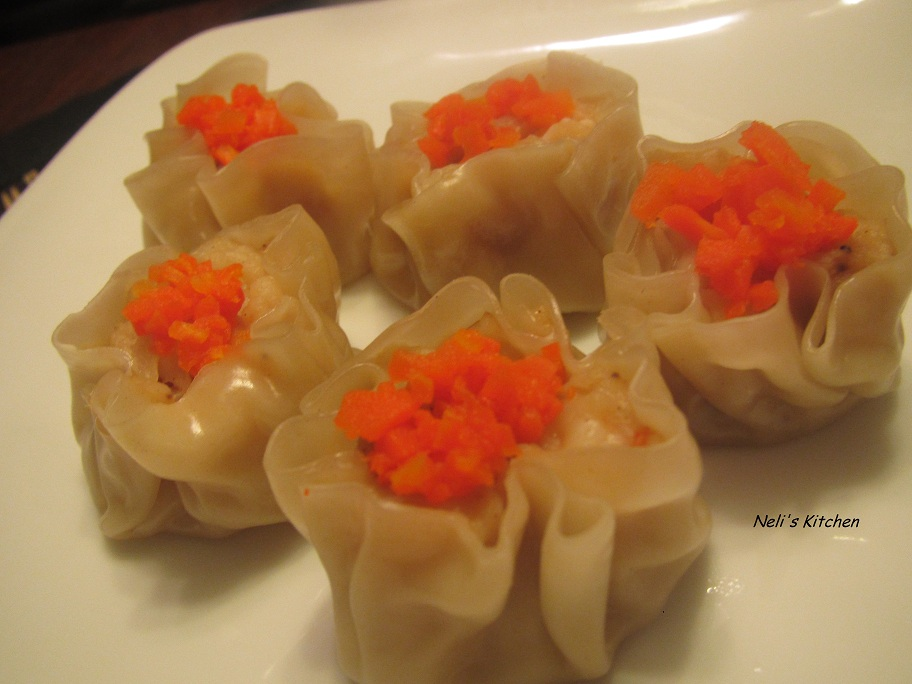 Fish and Shrimp Siu Mai