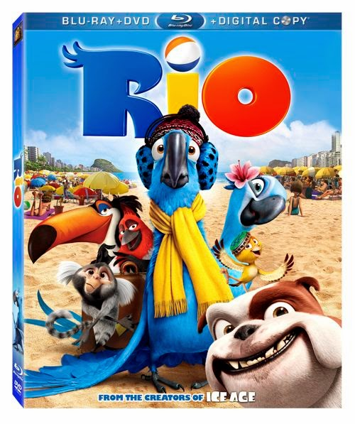 Rio 2011 Hindi Dubbed Dual Audio DD 5.1 BRRip 720p 850mb