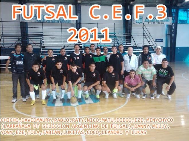 C.E.F.3 FUTSAL 2011