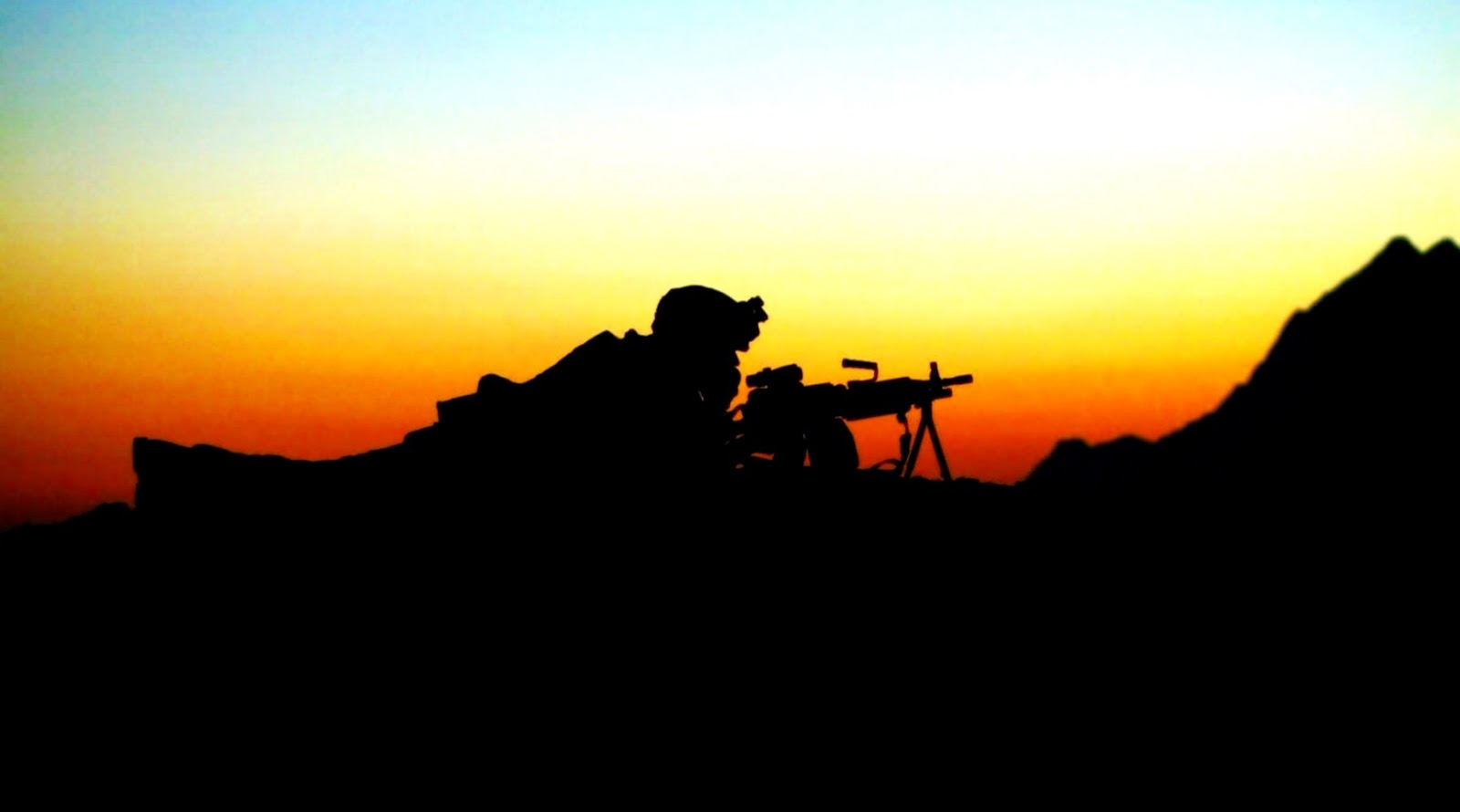 Simple Wallpaper Dragon Ball Z Silhouette - army-soldier-silhouette-sunset  Collection_202955 .jpg