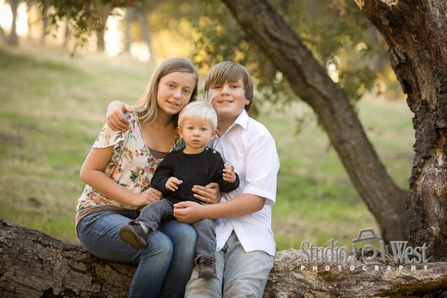 atascadero, san luis obispo, outdoor family portraits