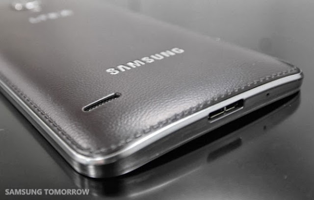 samsung galaxy round stitched leather back philippines