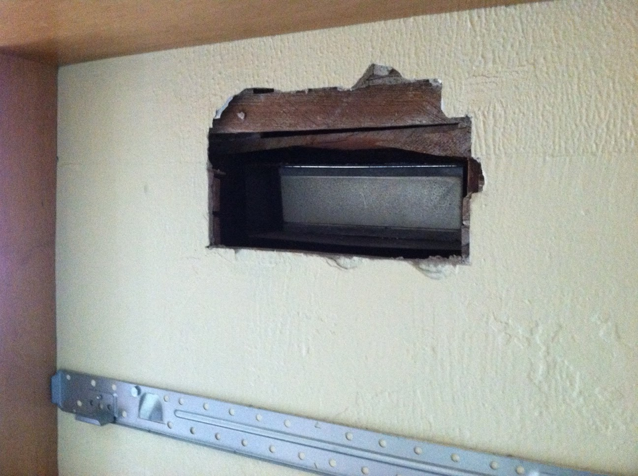 Old homes live on september 2012 - How to vent a microwave on an interior wall ...