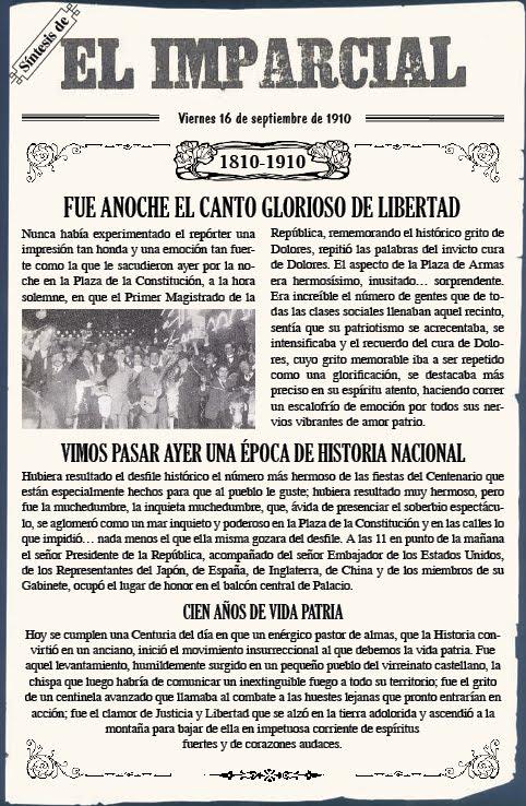 Bicentenario un dia como hoy for Noticias del espectaculo mexicano del dia de hoy