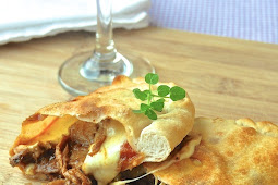 Smoked Spice Pulled Pork Calzones