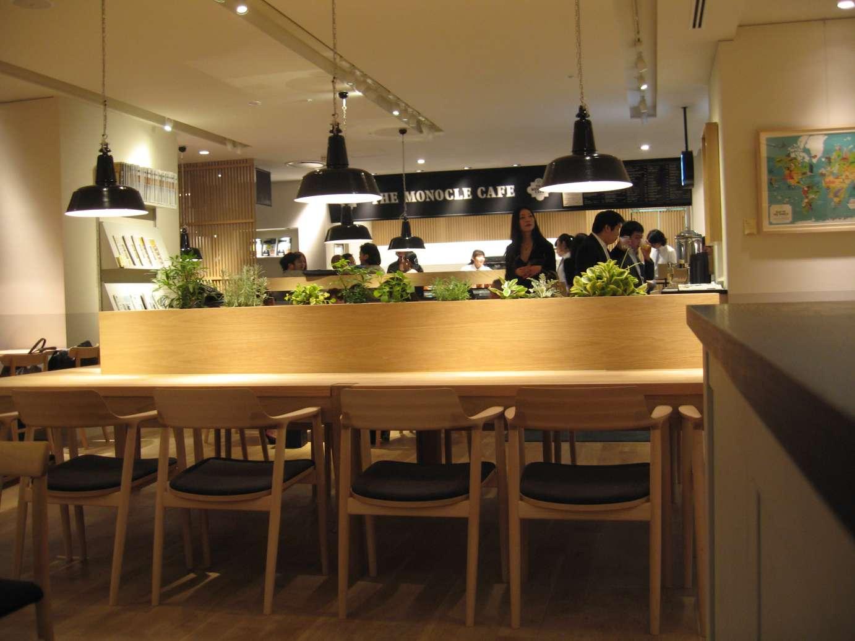 inform interiors: monocle magazine + maruni = cafe