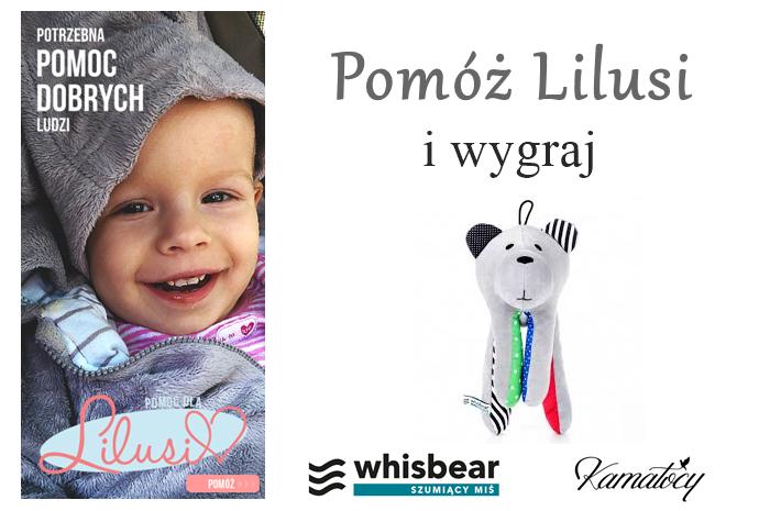 Pomóż Lilusi i wygraj WhisBear