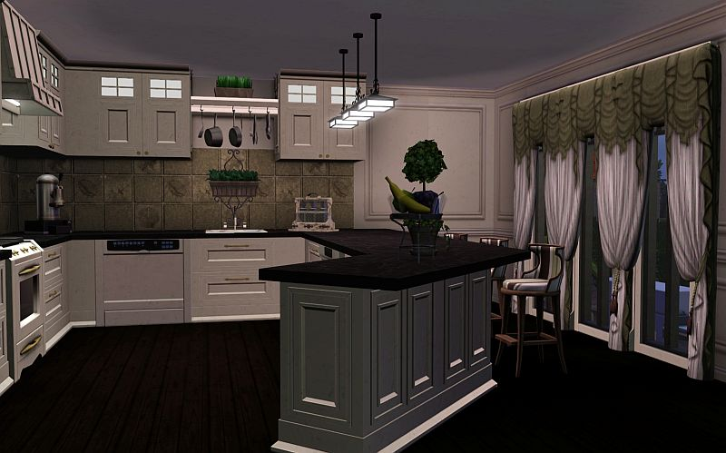 My sims 3 blog new york townhouses by kementari for Kitchen designs sims 3