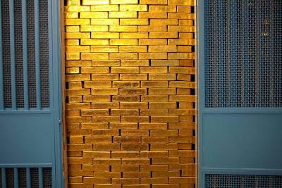 gold in vault