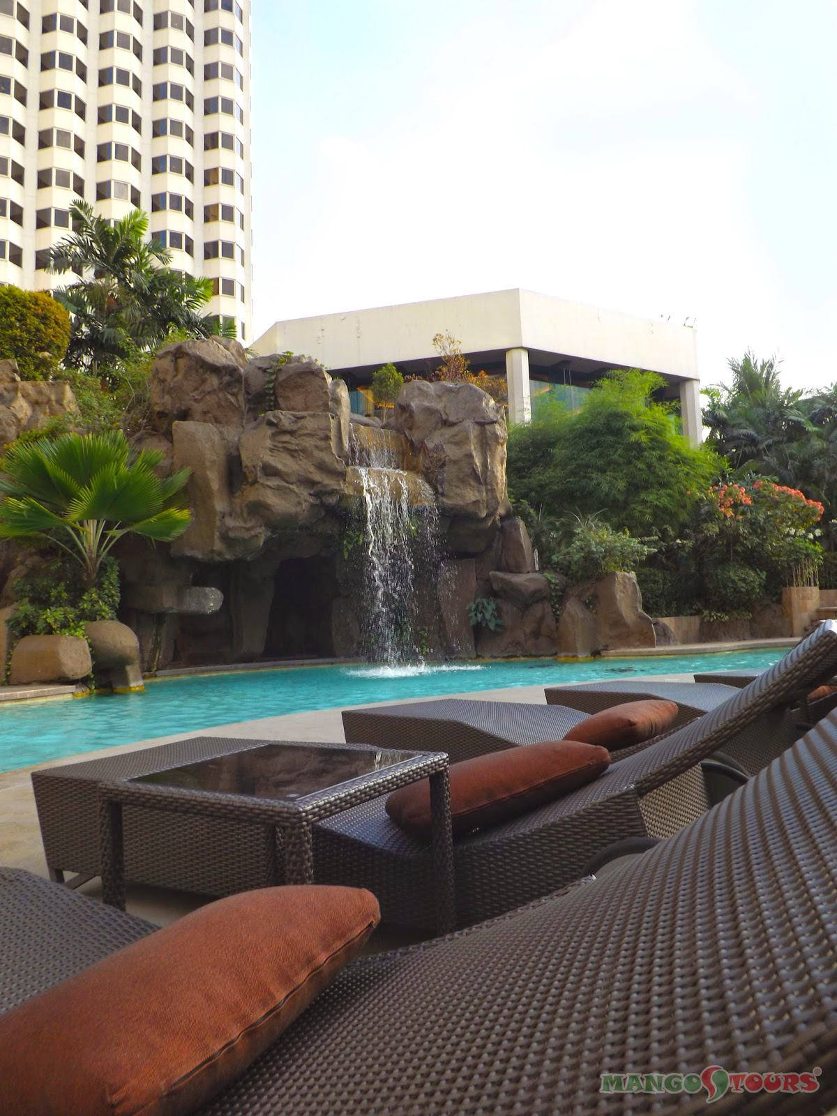 Mango Tours Diamond Hotel Philippines Swimming Pool