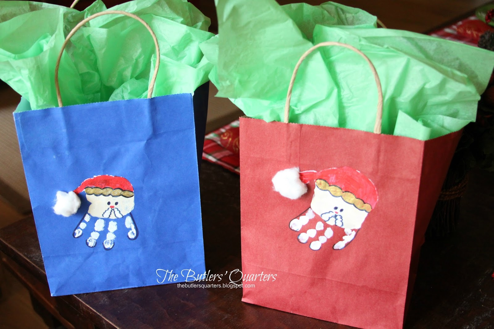 the butlers quarters diy christmas gift bags and teacher gift ideas