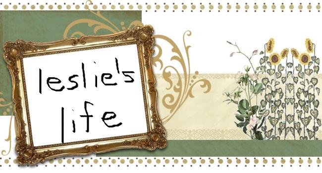 Leslie's life
