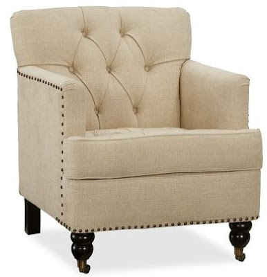 POTTERY BARN TUDOR CHAIR