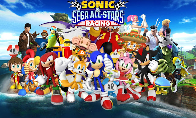 Sonic & SEGA All-Stars Racing Apk v1.0.1 + Data Mod [Unlimited Miles / Unlocked / Torrent]