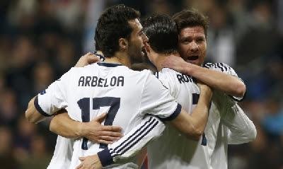Real Madrid-Manchester Utd 1-1 highlights