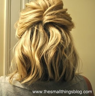 snthngs13 5 Great Hairstyles for Busy Moms (With Shoulder Length Hair)
