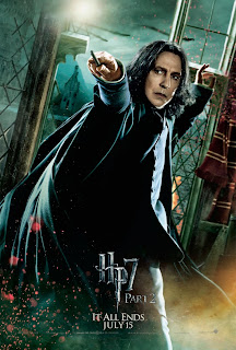 Harry Potter and the Deathly Hallows: Part 2 Character Movie Poster Set - Alan Rickman as Severus Snape