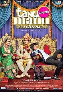 full cast and crew of bollywood movie Tanu Weds Manu Returns! wiki, story, poster, trailer ft R. Madhavan, Kangana Ranaut