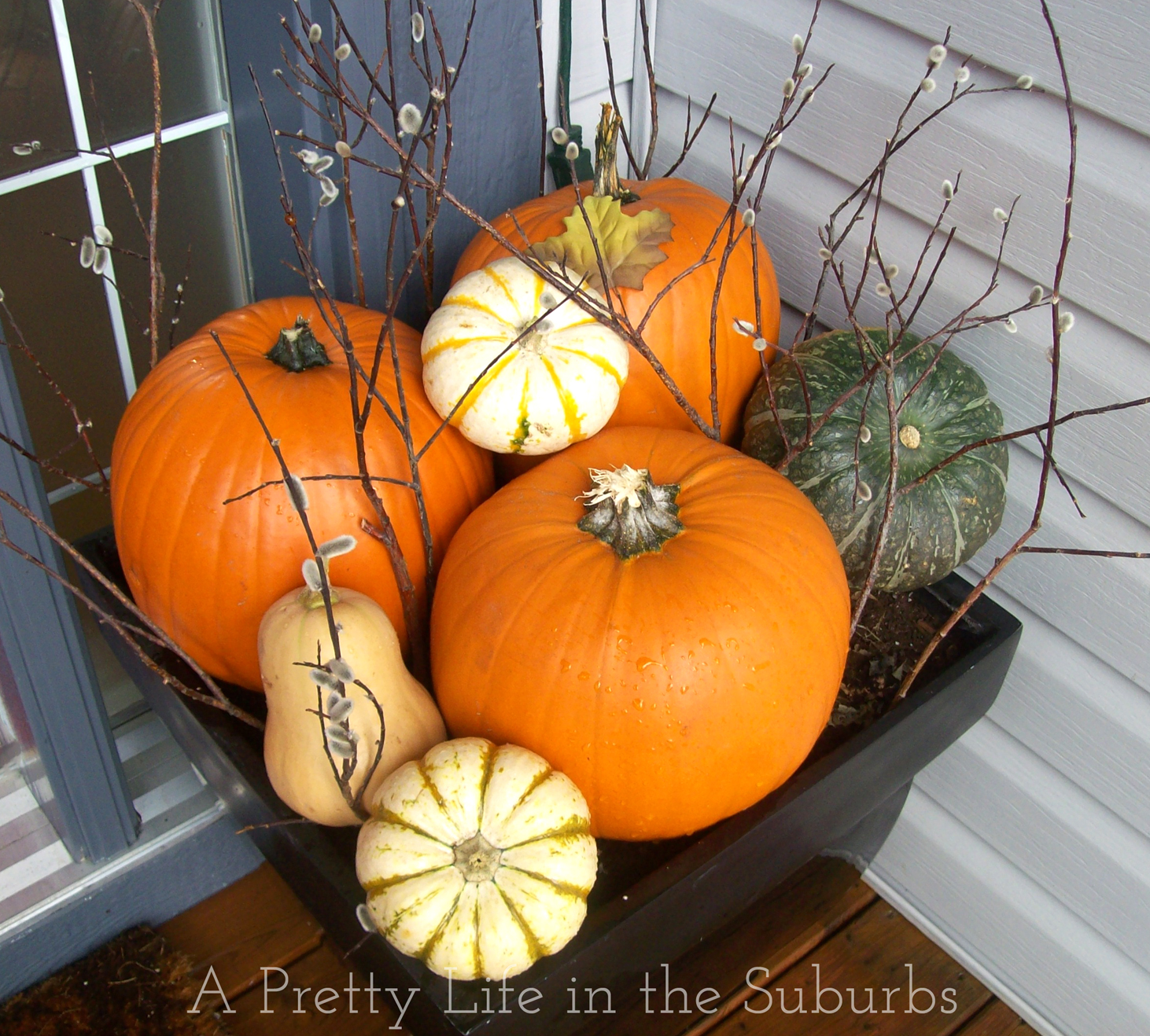 Fall Porch Decorating Fall Porch Decorating Ideas A Pretty Life In The Suburbs