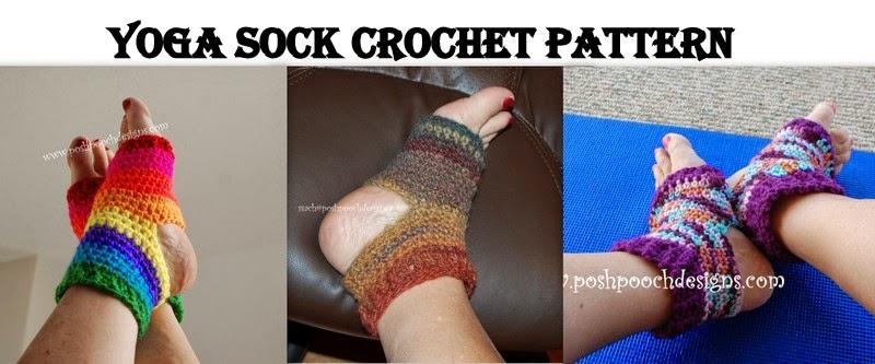 Posh Pooch Designs Dog Clothes Yoga Sock Crochet Pattern