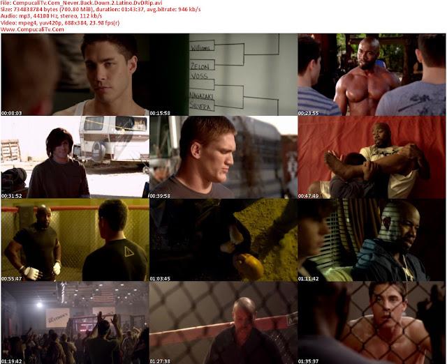 Rompiendo las Reglas 2 [Never Back Down 2] 2011 [DVDRip] Español Latino [1 Link]