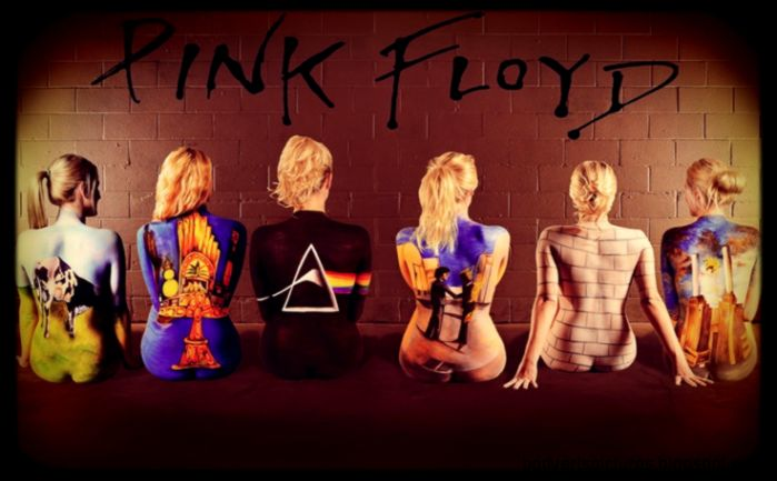 Body Paint on Pinterest  Stay Gold Pink Floyd and Body Paint