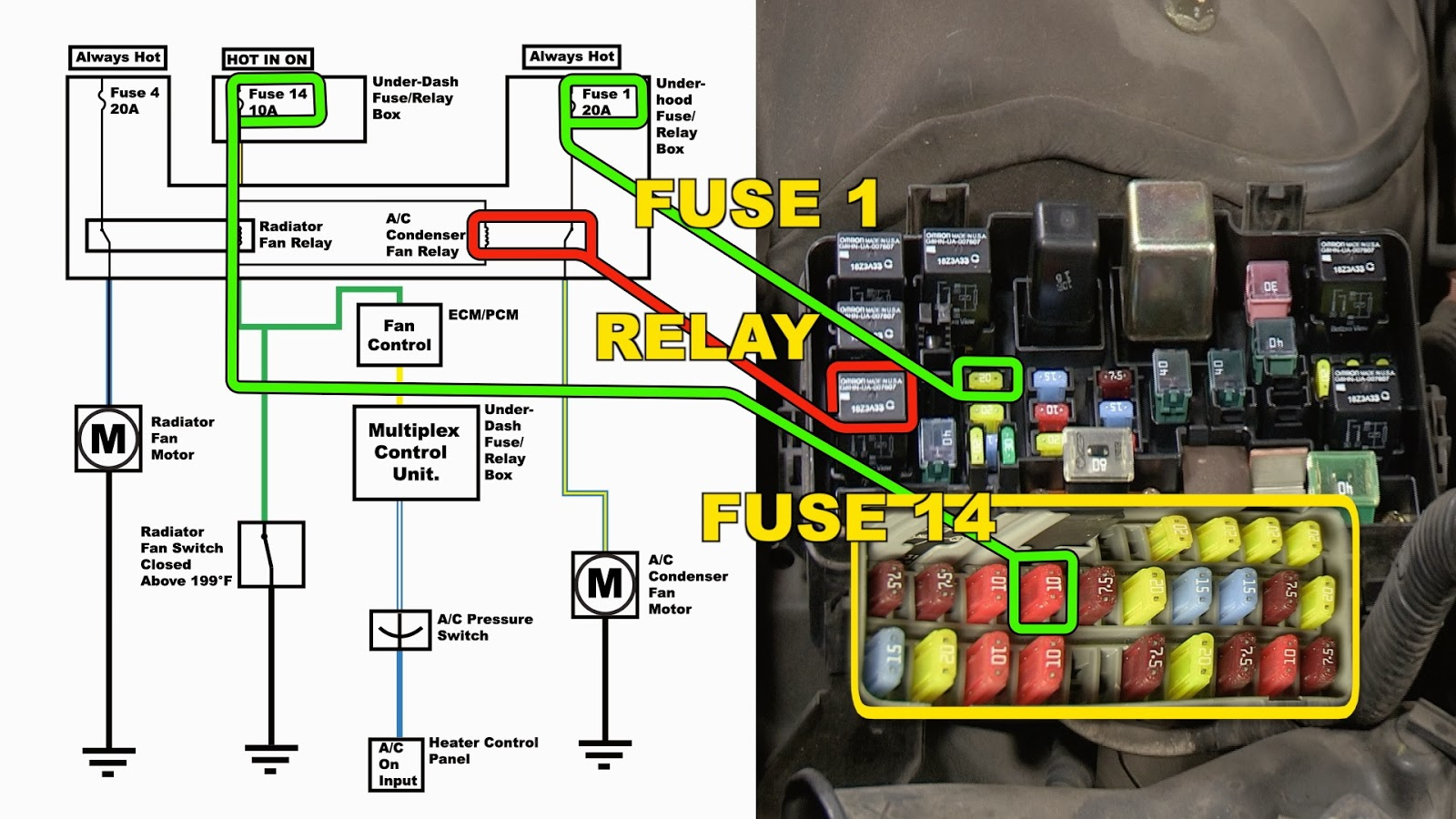 2004 Civic Relay Diagram Schematics Wiring Diagrams Honda 5 Pin Fuse Box Relays Suzuki Aerio Symbols