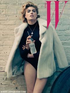 كيت ابتون في صور مثيرة لمجلة W Magazine Korea أكتوبر 2015