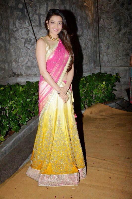 Tamil Actress Kajal Aggarwal