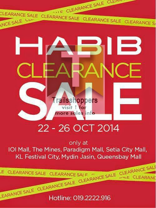 Habib Jewels Clearance Sale offer Malaysia