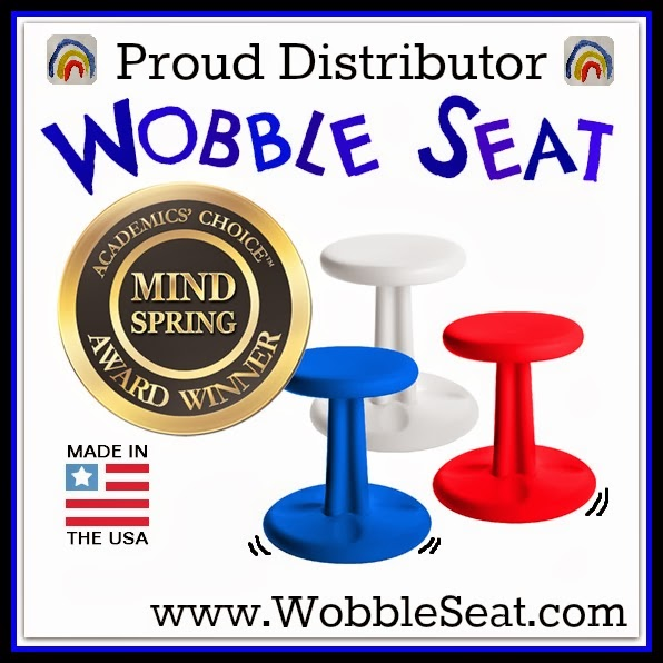 Award Winning Wobble Seat now available Directly through RainbowsWithinReach