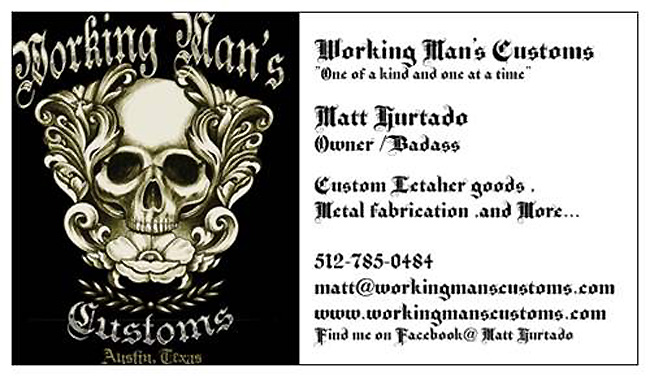 Working Man's Customs