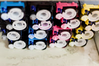 printer ink cartridge color stacks