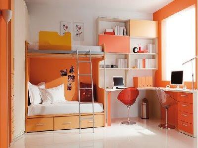 Rooms decorated for teens cuartos para jovenes que for Dormitorio para 4 personas