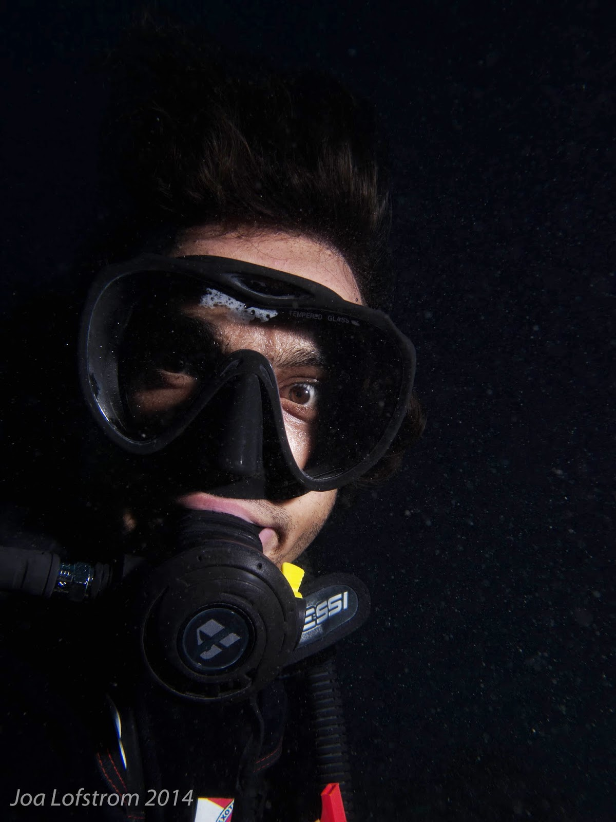 Adam Beard, PADI instructor malapascua.