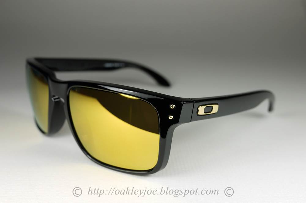 oakley holbrook 24k polarized lenses