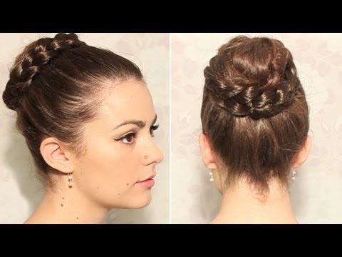 10 bellesalud v deo como hacer 3 peinados recogidos para - Peinados para ir de fiesta ...