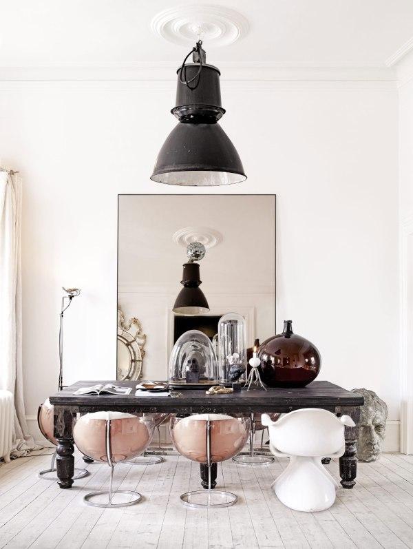 ecléctico mix de estilos decorativos