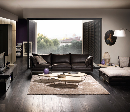 Fotos de salas elegantes ideas para decorar dise ar y for Salas clasicas modernas