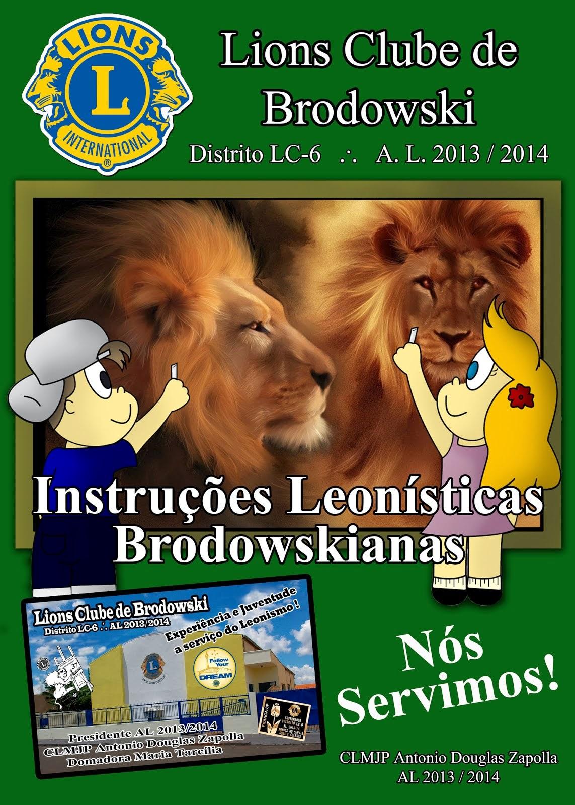 INSTRUÇÕES LEONISTICAS BRODOWSKIANIS