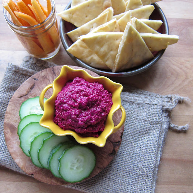 Arctic Garden Studio: Beet Hummus