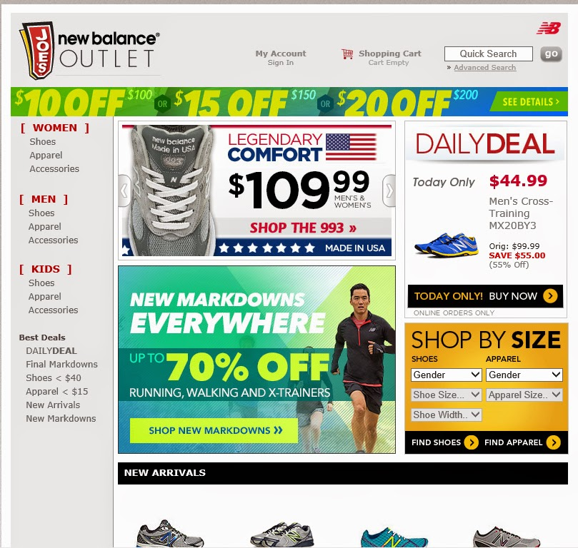 Joe's new balance coupon code
