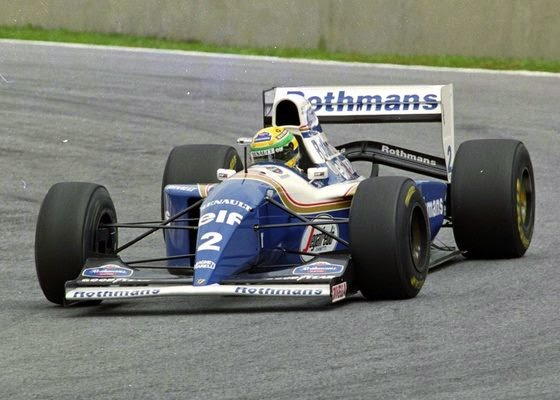 1994 Carro Ayrton Senna Fórmula 1 Williams