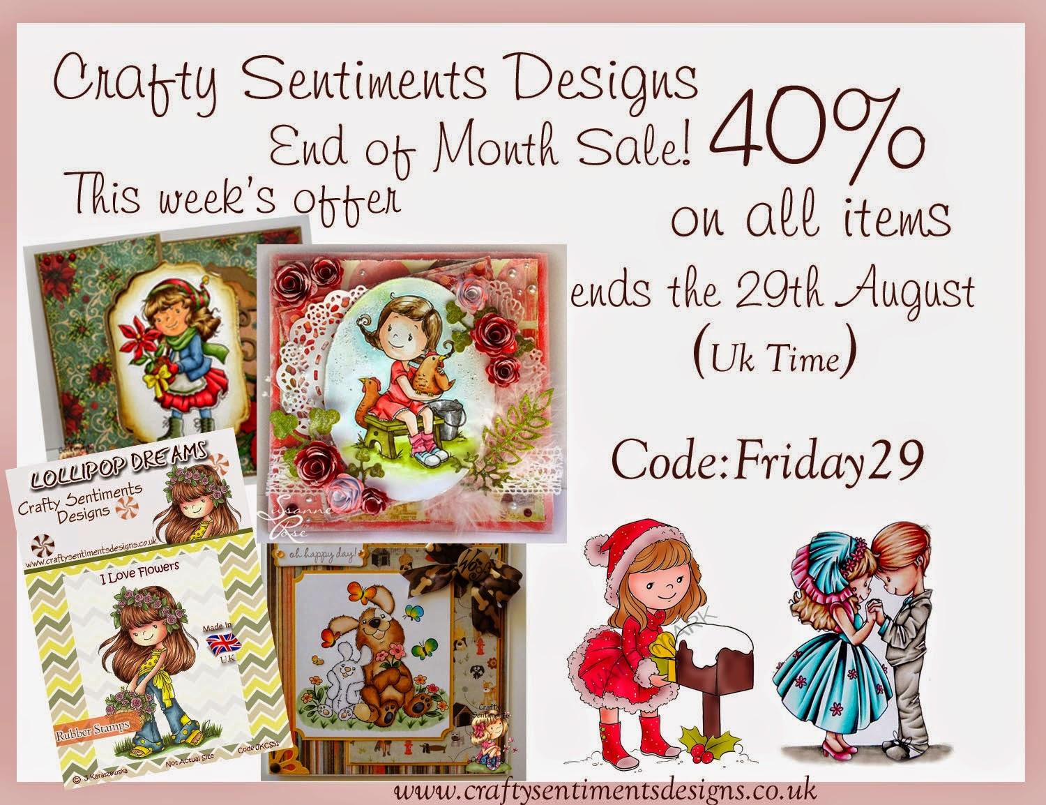 Crafty Sentiments Sale