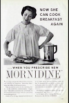 1950s ad for Mornidine