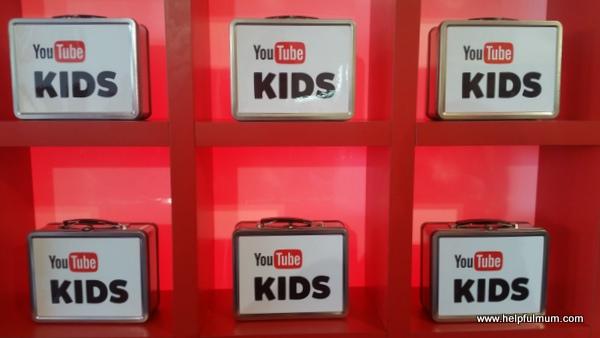 YouTube Kids lunchbox
