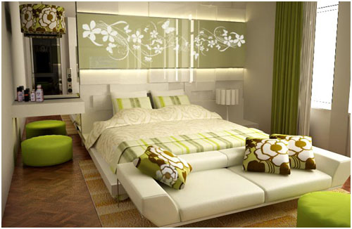New Trends Modern Bedroom