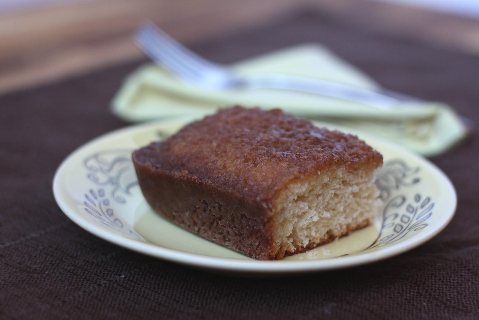 Cinnamon Toast Cake - Gluten Free