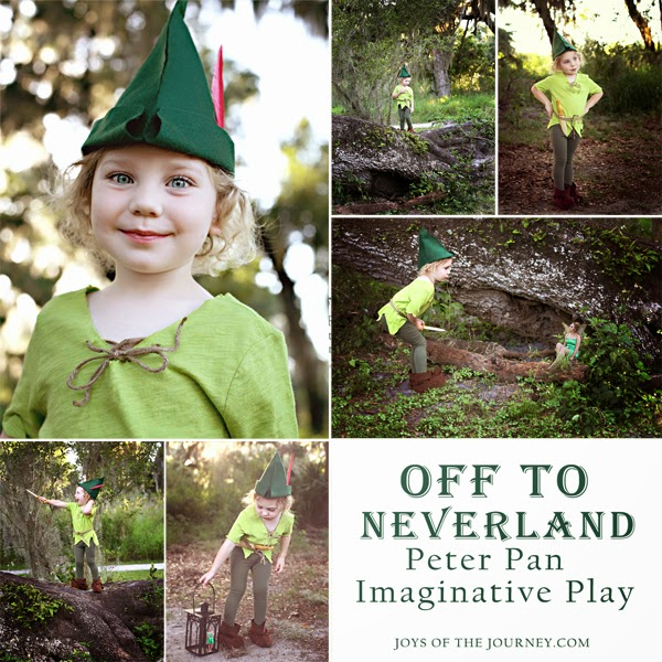 Joys of the journey imaginative play peter pan in neverland