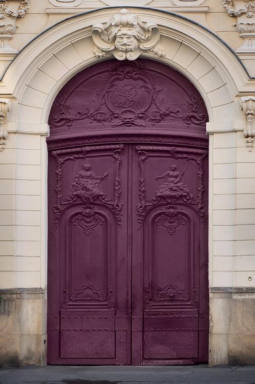 The Pink Chalkboard Pretty Purple Doors
